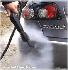 Car Engine Steam Cleaning Service